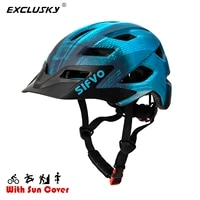 exclusky out door safety child kids helmet for bike skating scooter with brim 50 57cmages 5 13 cpsc ce en 1078 standard