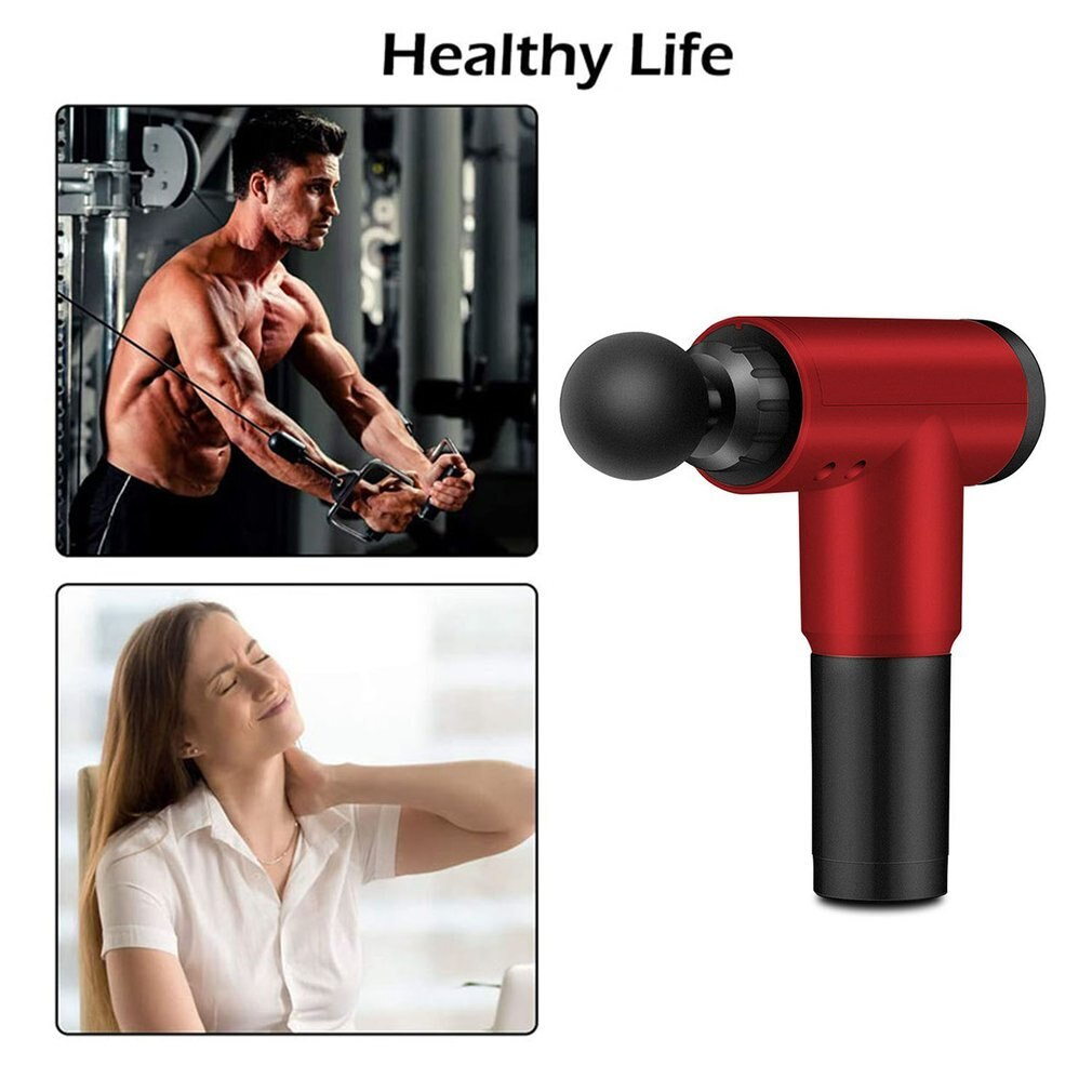 Hot Fitness Home Electric Fascia Gun Massage Gun Muscle Relaxer Massager Impact Gun Movement Recovery Fascia Grab enlarge