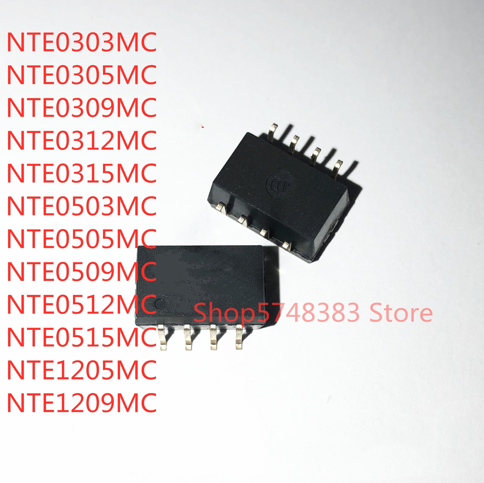 10 قطعة NTE0303MC NTE0305MC NTE0309MC NTE0312MC NTE0315MC NTE0503MC NTE0505MC NTE0509MC NTE0512MC NTE0515MC NTE1205MC NTE1209MC
