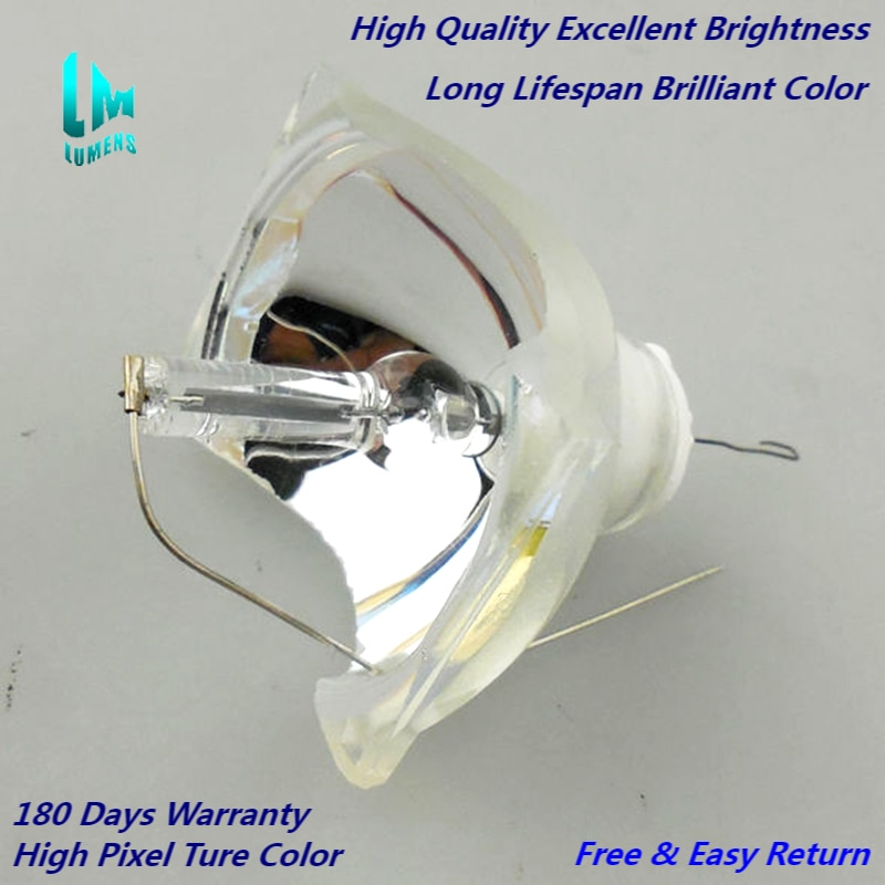 high brightness projector bulb for elplp57 for epson eb 450w eb 440w eb t450wi eb 460 h318a h343a 180 days warranty for ELPLP65 Replacement Bare bulbs For EPSON H372A EB-1750 EB-1751 EB-1760W EB-1761W EB-1770W EB-1776W 180 days warranty