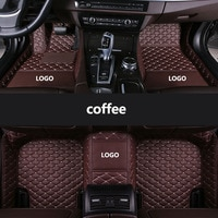 kalaisike Custom LOGO car floor mats for BMW all model X3 X1 X4 X5 X6 Z4 f30 f10 f11 f25 f15 f34 e46 e90 e60 e84 e83 e70 e53 g30