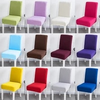 yaapeet 20 colors christmas chair cover home dining chair covers multifunctional spandex elastic cloth universal stretch