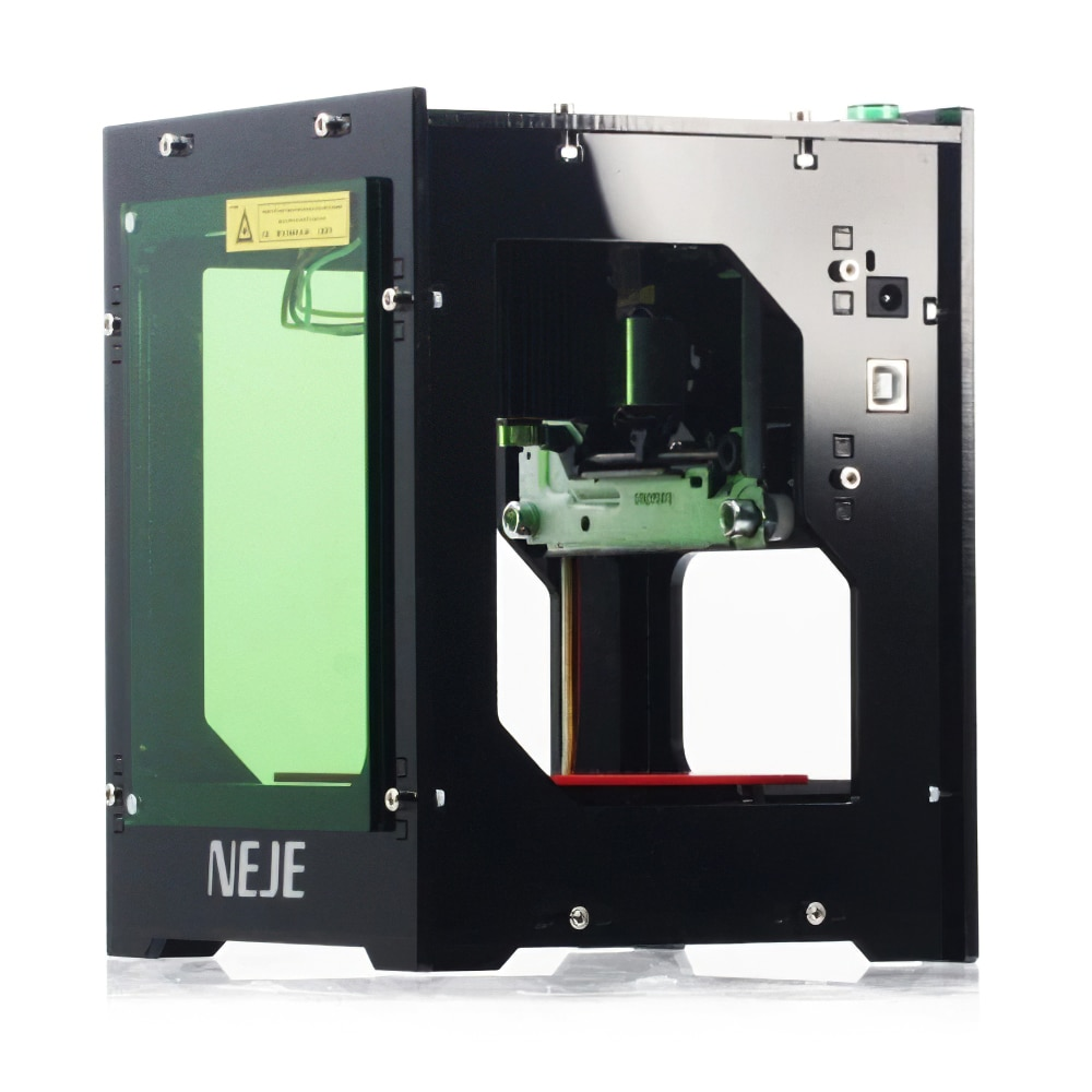 NEJE DK-8-KZ 3000mW Laser Engraver Engraving Machine 445nm Mini Desktop High Speed Wood Laser Printer Router for Windows XP/8/10 enlarge