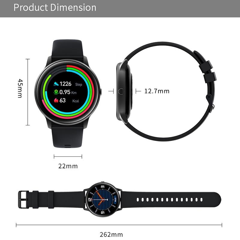 Купить с кэшбэком Smart Watch Bluetooth 5.0 SmartWatch Blood Pressure Heart Rate Sports Fitness Tracker IP68 smart watches for Men Women