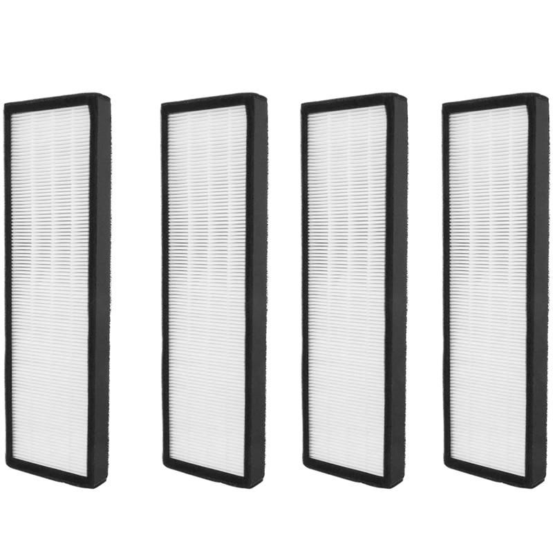 عدد 4 عبوات من فلتر HEPA B لأجهزة تنقية الهواء germguard FLT4825 FLT4800 AC4300 AC4800 AC4900 AC4900CA pureguard AP2200CA