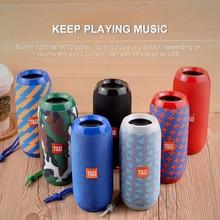 TG 117 Wireless Bluetooth Speaker Outdoor Stereo Bass USB/TF/FM Radio Audio Mp3 stereo Music Player Sound Bar Subwoofer Soundbar