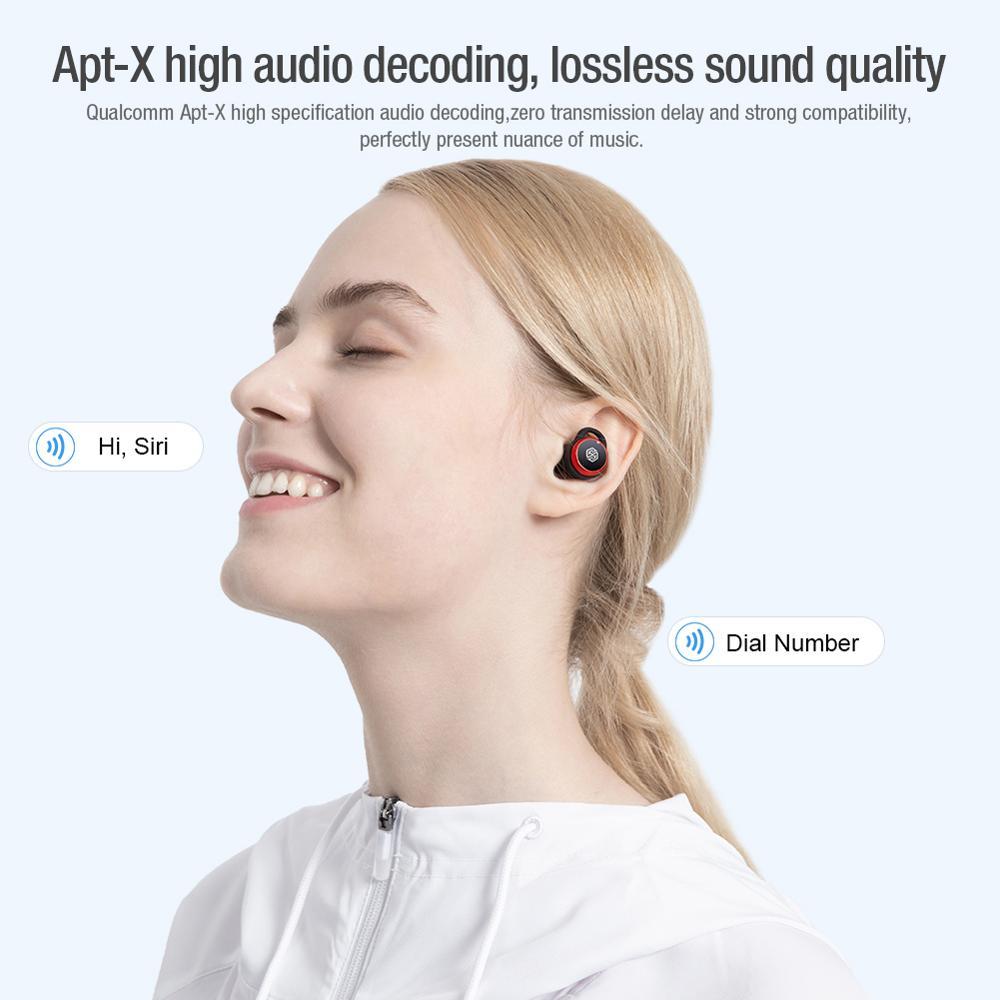 True Wireless Stereo Earbuds Nillkin Wireless Bluetooth Earphones aptX with Qualcomm Chip For Samsung Galaxy S21Ultra Headset enlarge