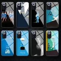 catch me if you can tempered glass phone case cover for xiaomi mi poco a f x 2 3 8 9 10 11 t pro lite ultra max nfc back shell