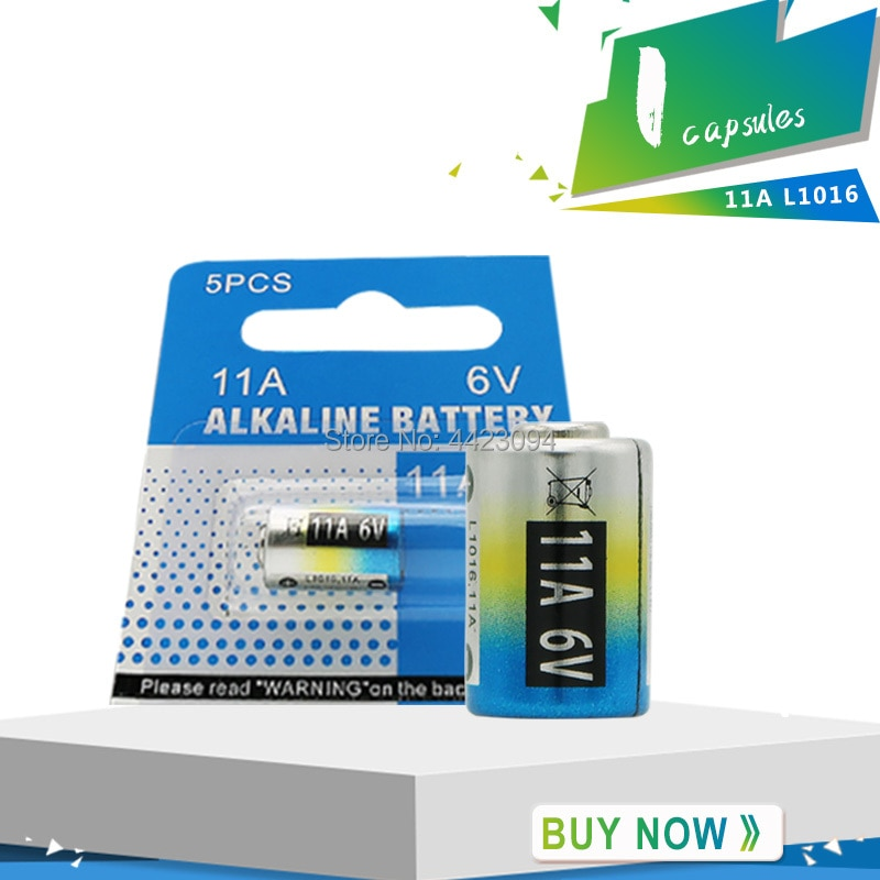 1pcs/lot 11A 6V Primary Dry Batteries L1016 Alkaline Car Key Remote Battery Drop Ship