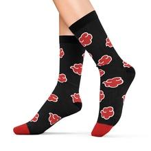 Akatsuki Cloud Pattern Cushion Socks