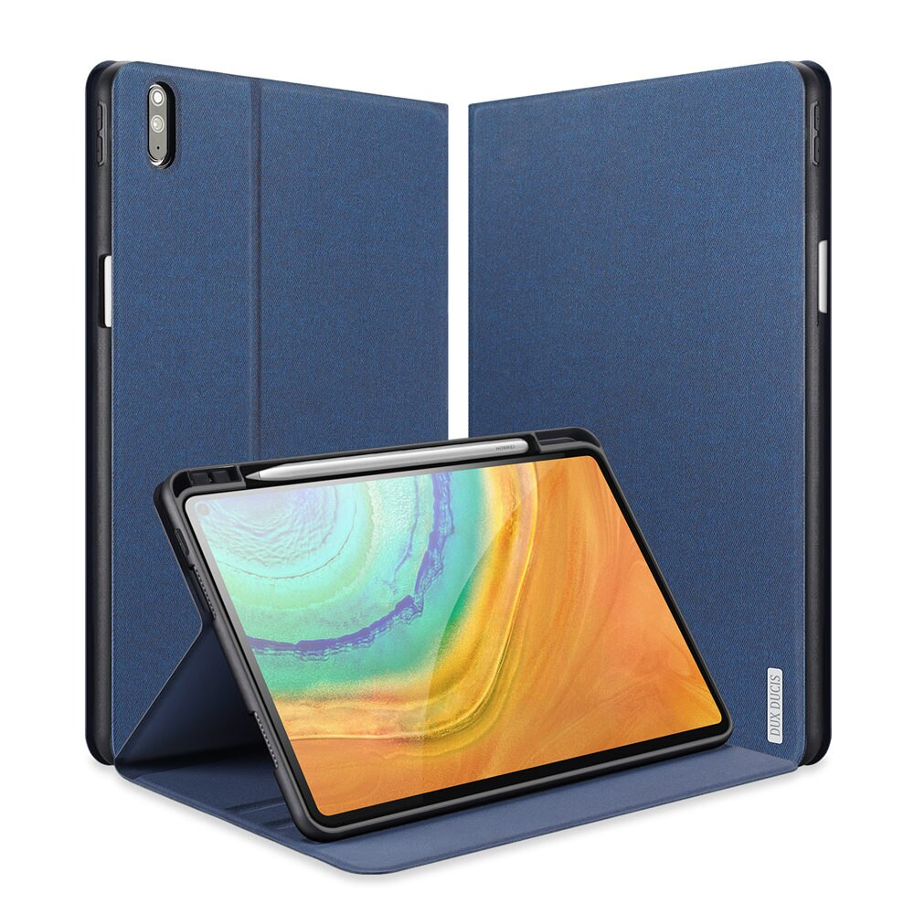 Para Huawei Mate Pad Pro 10,8, funda para Tablet con soporte para lápices, funda con soporte para tríptico inteligente para Huawei MatePad Pro de 10,8 pulgadas
