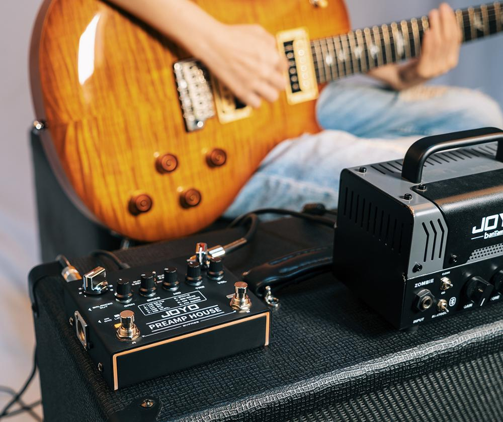 JOYO R-15 PREAMP HOUSE  9 Amps'preamps 18 tones Effects Guitar Pedal True Bypass  Bass and Guitar Accessories enlarge