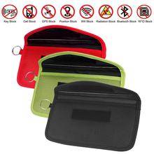 Signal Blocking Bag Shielding Pouch Wallet Case For Cell Phone Privacy Protection And Car Key FOB Fo
