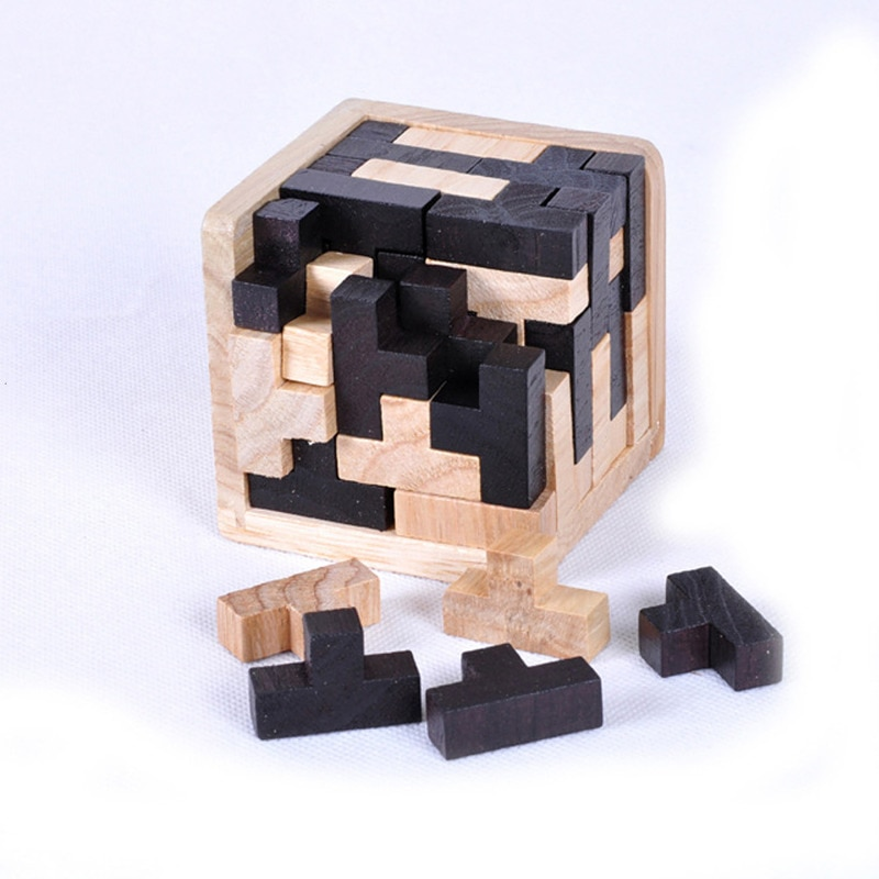 Фото - Creative 3D Wooden Cube Puzzle Ming Luban Interlocking Educational Toys For Children Kids Brain Teaser Early Learning Toy Gift ming xing toys водный синий
