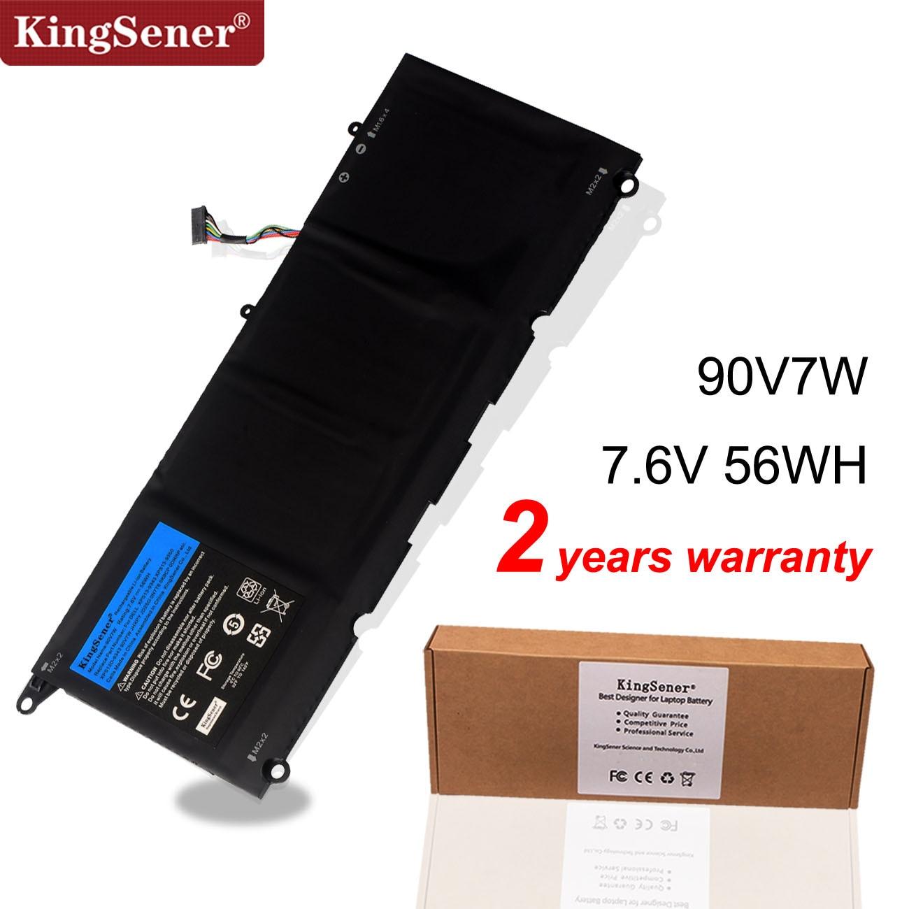 KingSener 90V7W JHXPY JD25G 090V7W Laptop Battery For Dell XPS 13 9343 XPS13 9350 13D-9343 P54G 0N7T