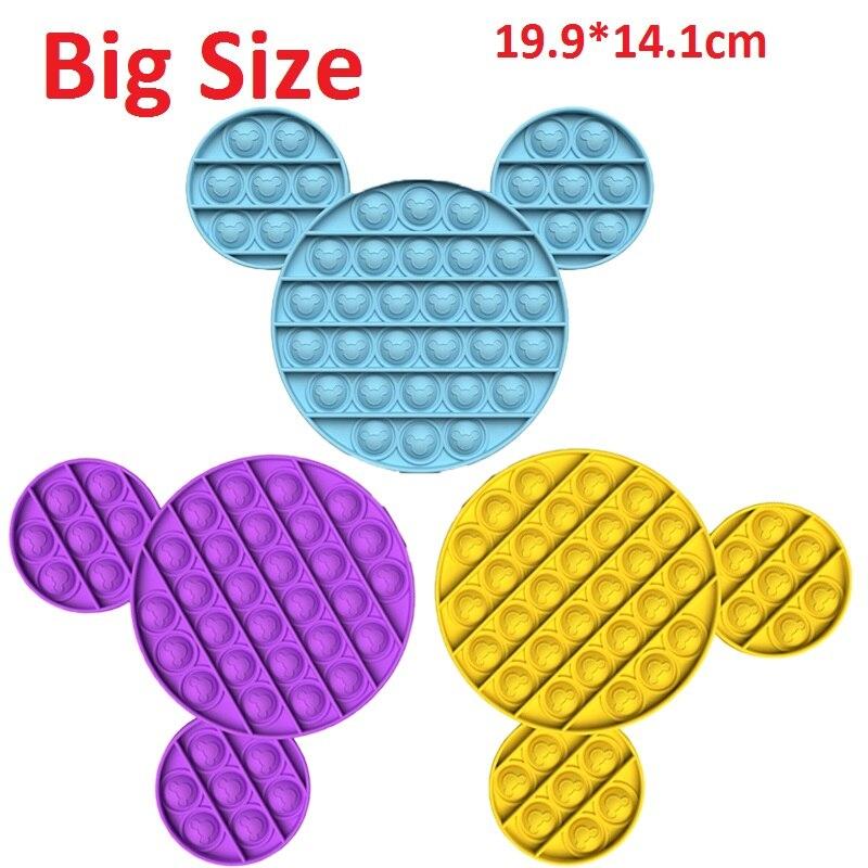 Big Size Popsits Fidget Toy Bubble Fidget Toys Simpel Dimpel Stress Reliever Toys Zabawki Antysresowe Speelgoed Figet Popsits enlarge