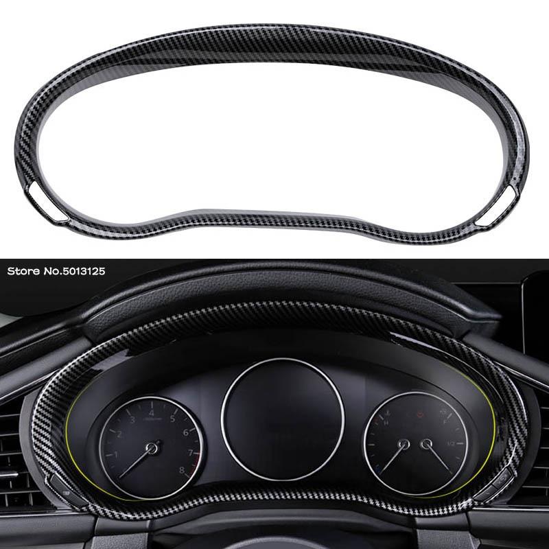 Декоративная рамка для автомобильной приборной панели, модификация в стиле углеродного волокна для Mazda 3 Axela 2019 2020 2021, автомобильные аксессу...