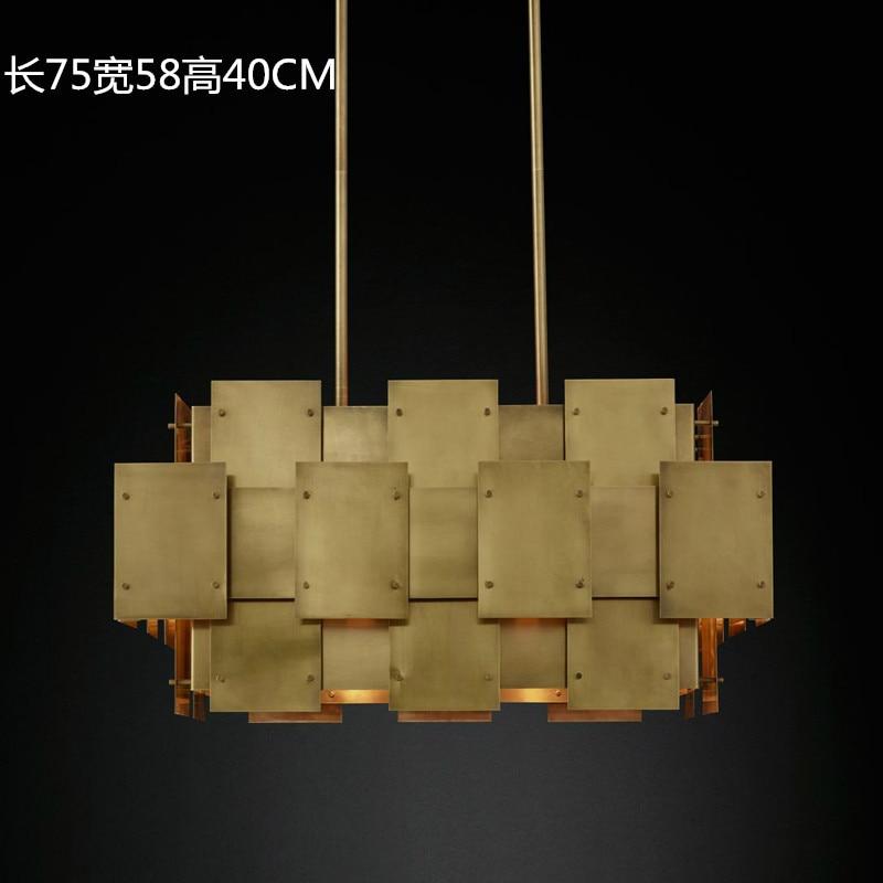 ما بعد الحداثة الحد الأدنى غرفة المعيشة الفن مصابيح شخصية مصمم نموذج غرفة دوبلكس بناء رمادي زجاج دائري الثريا