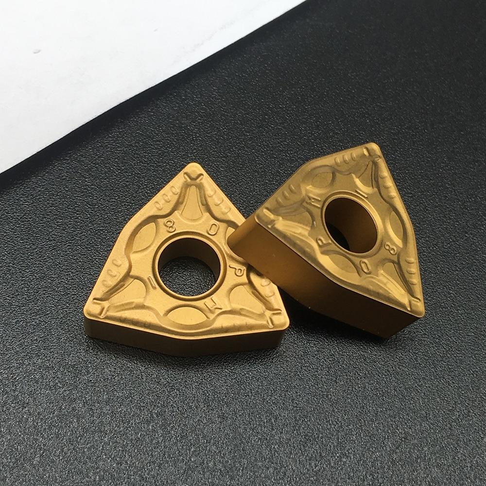 10PCS WNMG080408 PM FT4025 AccesoriosDeTorneria Steelpart ForTurningToolsCarbideturninginserts MachineToolAccessories 10pcs wnmg080408 cq ft4125 accesoriosde