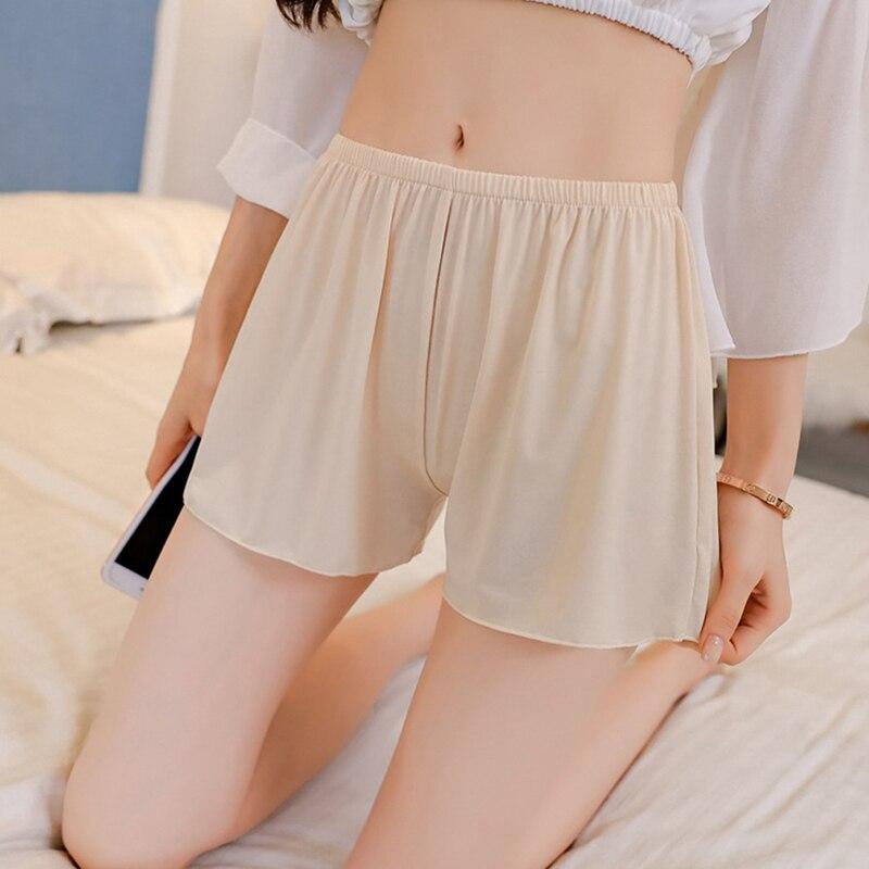 Las mujeres corto sexy pantalones, bragas de mujer comodidad Simple sólido de alta calidad de las mujeres sin servicio de inicio de pantalones cortos