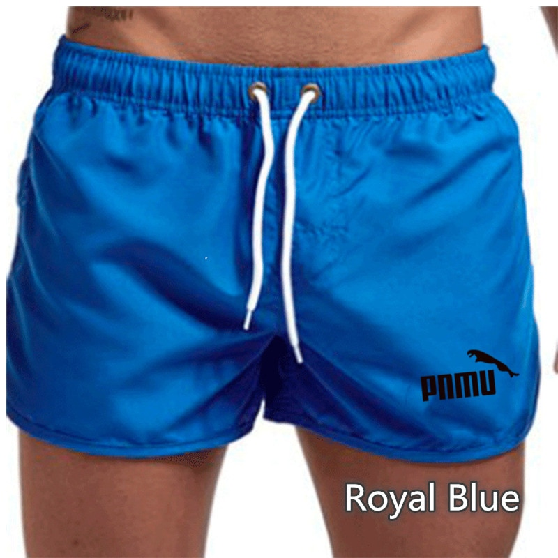2021Men Casual Breathable Quick Dry  Pockets Beach printing Color Sport Shorts Mens Short Summer Male Pant Pocket