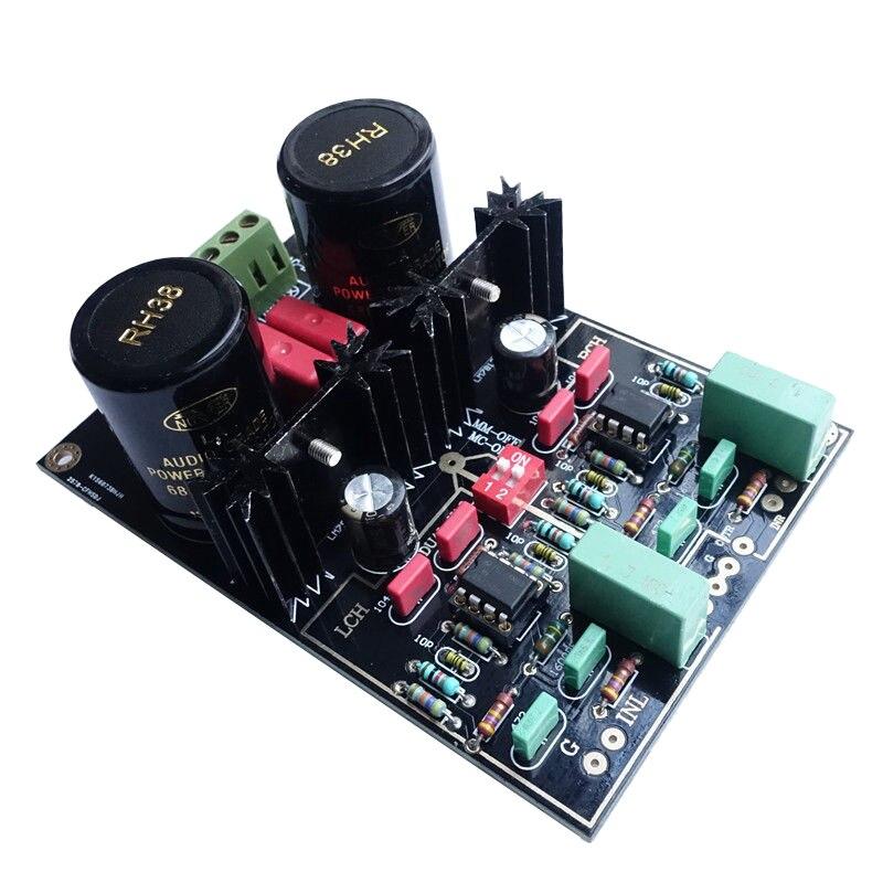 1 Uds Audio circuito Dual MM/MC/etapa de Phono HIFI acabado tablero amplificador