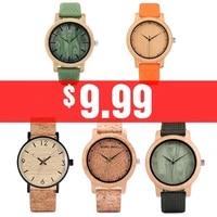 bobo bird wood bamboo watch for mens womens brand designer watches 2020 soft nylon band carton clock gift box relogio masculino