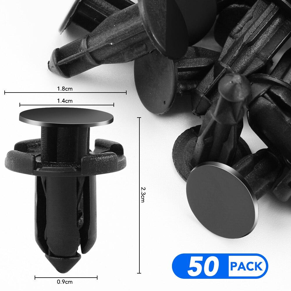 50 pces auto amortecedor fixador 9mm buraco para acura rlx cl el rl csx ilx mdx nsx rdx rl slx tl tsx vigor zdx