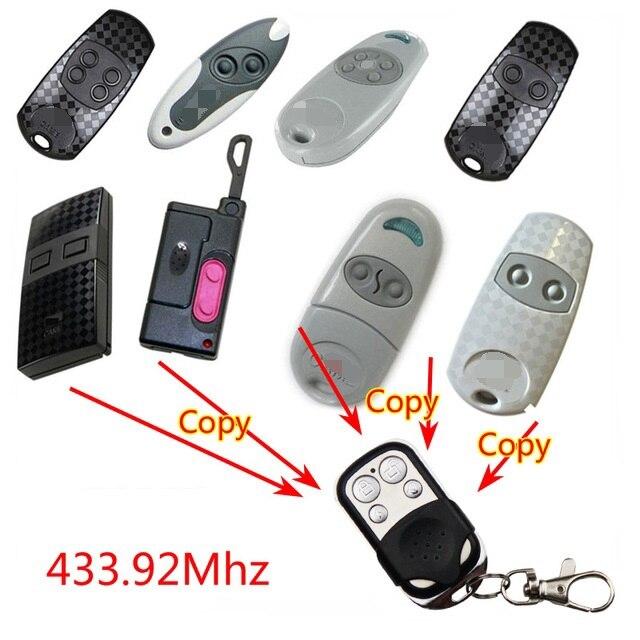 Abridor de puerta de garaje eléctrico 433mhz control remoto para CAME TOP432NA TOP434NA TOP432A TOP434A TOP432SA TWIN2 TAM432SA