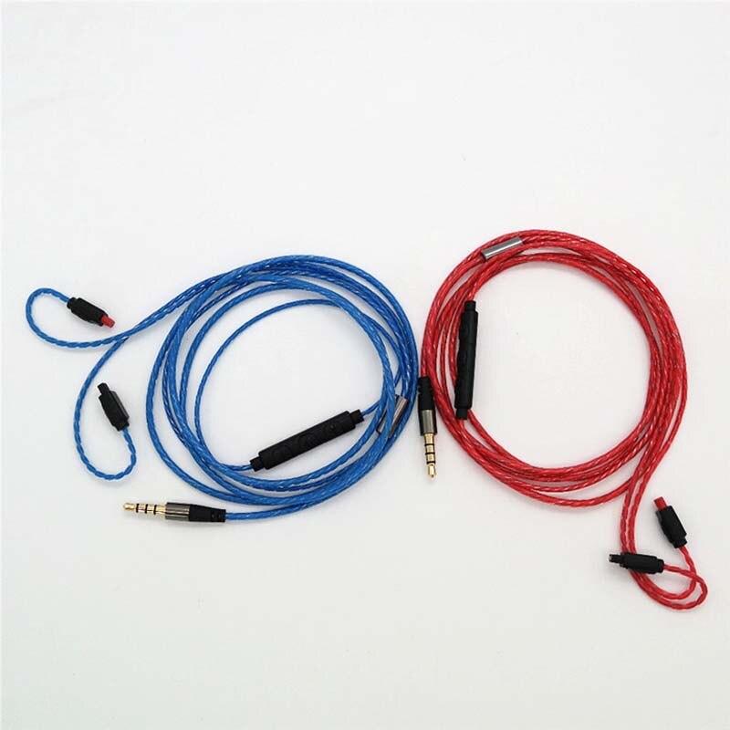 Auriculares de Cable de Audio para Audio Technica ATH-IM01 ATH-IM02 ATH-IM50 ATH-IM70 auriculares de Cable cables 3,5mm macho 1,3 m