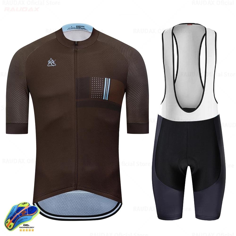 Raudax-Conjunto de Ropa de Ciclismo para hombre monokini triatlón 2020