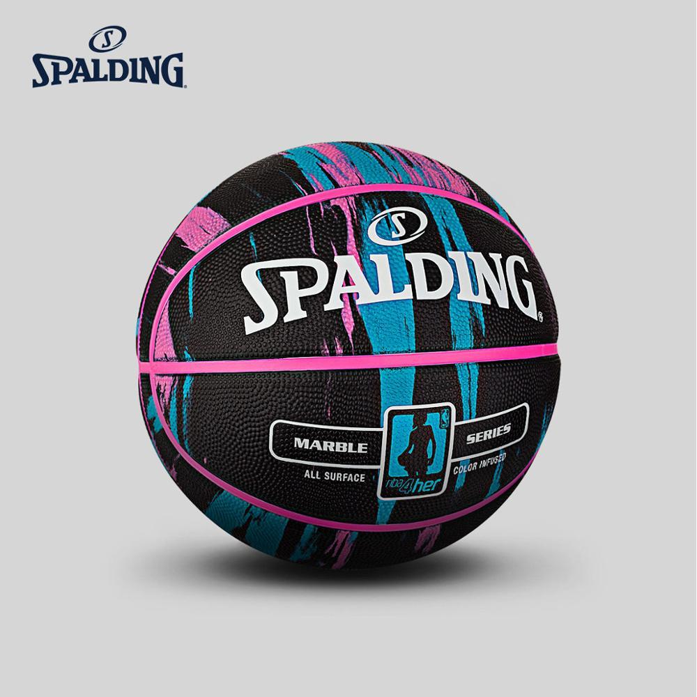 SPALDING Professional Basketball Game Grade Mens Womens Size 6 Training Outdoor Original Official