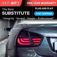 car styling tail light for bmw e90 3 series 318i 320i 325i taillights rear lamp led signal reversing parking lights