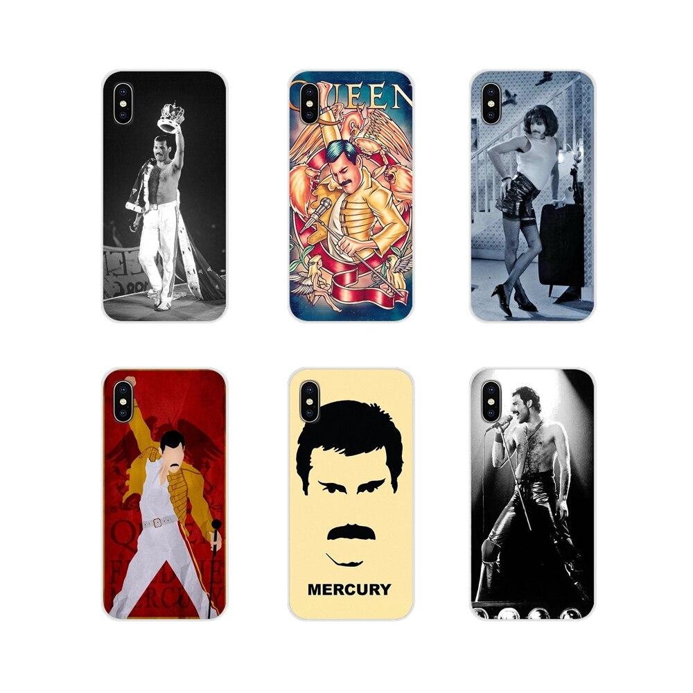 Zubehör Telefon Fällen Abdeckungen Für Xiaomi Mi4 Mi5 Mi5S Mi6 Mi A1 A2 A3 5X 6X 8 CC 9 T lite SE Pro königin freddie mercury