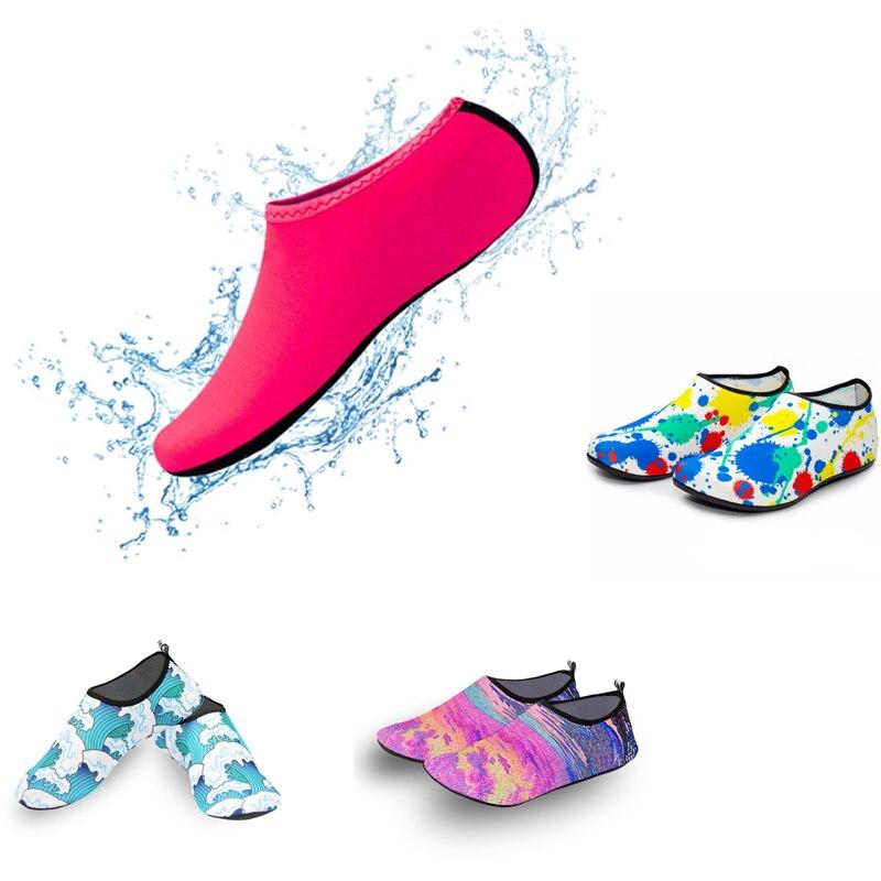 Beach sneaker Socks Beach Water Shoes Barefoot Yoga Shoes Quick-Drying Surfing Swimming Shoes Men Wo