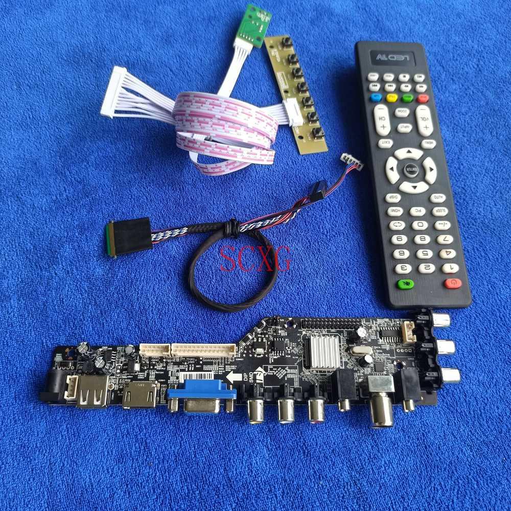 صالح LTN154BT02/LTN154BT08 40 دبوس LVDS الرقمية إشارة جهاز تحكم بالشاشة مجلس 1440*900 عدة LCD LED DVB AV VGA USB HDMI-متوافق