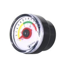 """0 ~ 30psi 0 ~ 2bar بركة تصفية ضغط المياه الهاتفي مقياس لمكبس هيدروليكي متر مقياس الضغط 1/8 """"NPT الموضوع"""