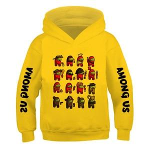 Harajuku Unisex Hoodies Boys- Girls Oversized Funny Cartoon Fashion Sweatshirt Hip Hop Graphic Anime Printed Hoody Game Among Us