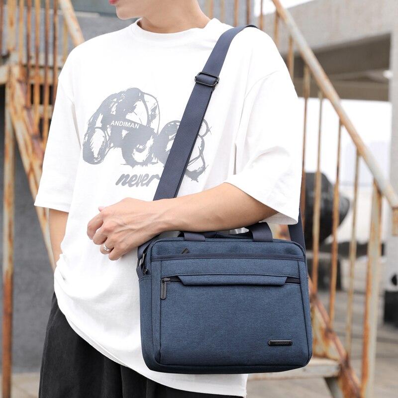 Men Canvas Shoulder Bag Travel Luxury Tote Handbag Messenger Bag Male Satchel Pack Crossbody Bags