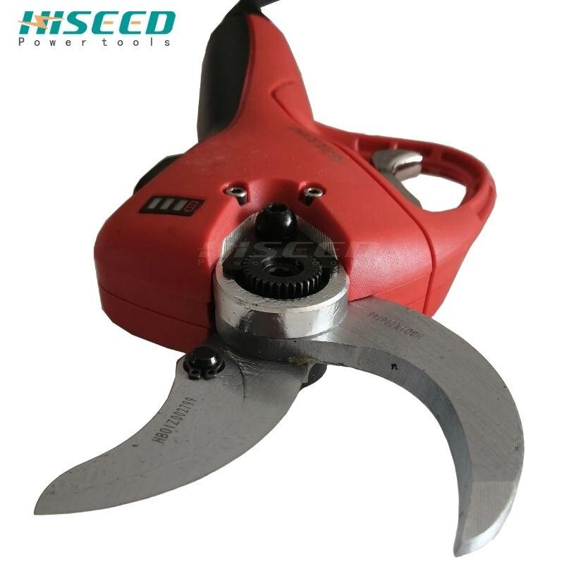 Hiseeled-آلة تقليم شجرة التفاح الكهربائية ، 40 مللي متر ، أدوات الحدائق الكهربائية