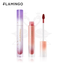 FLAMINGO Cosmetics Starry Sky Lip Gloss Velvet Matte Make Up Long-lasting Lipstick Non-fading Non-st