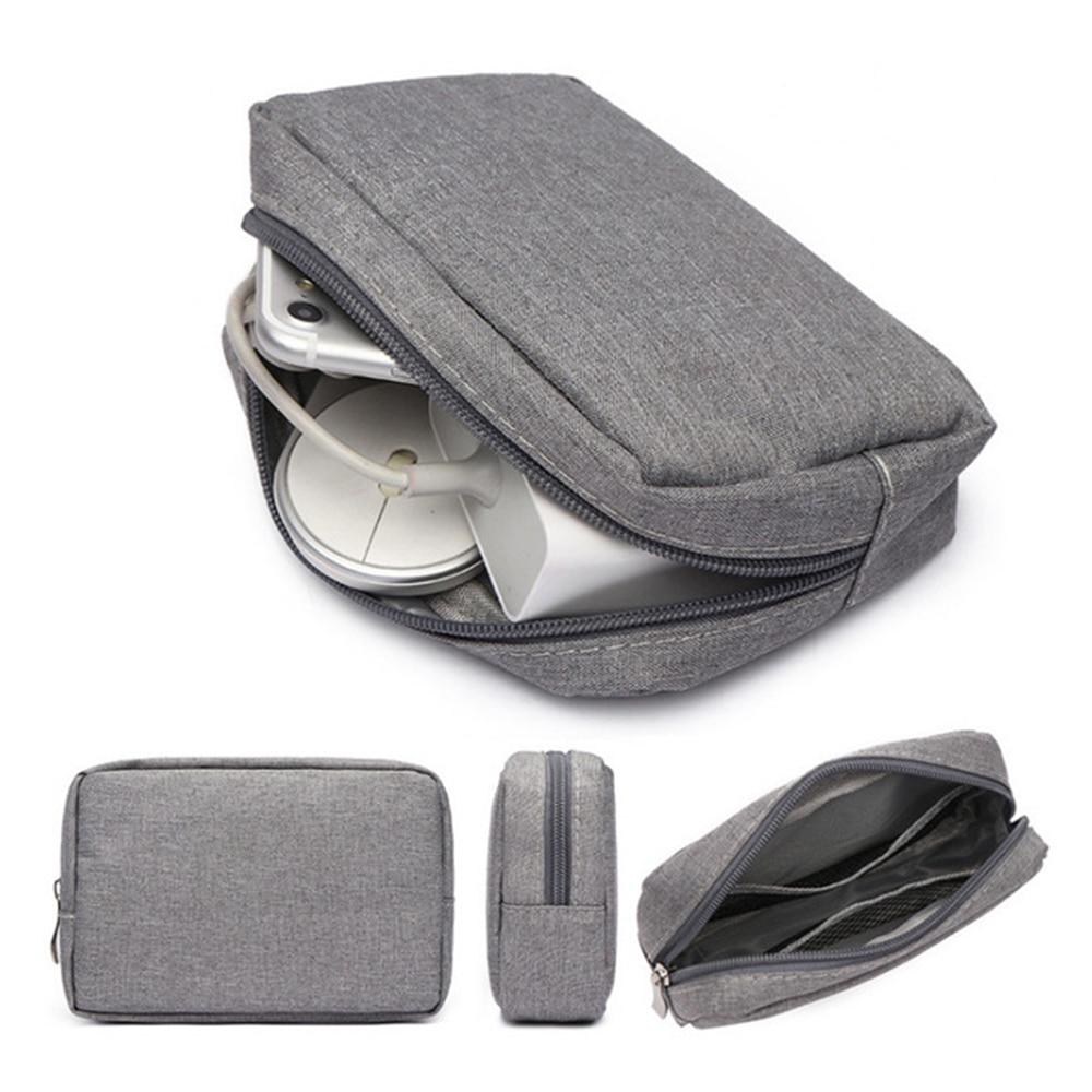 Estuche organizador de viaje para armario, bolsa de almacenamiento de auriculares, accesorios...