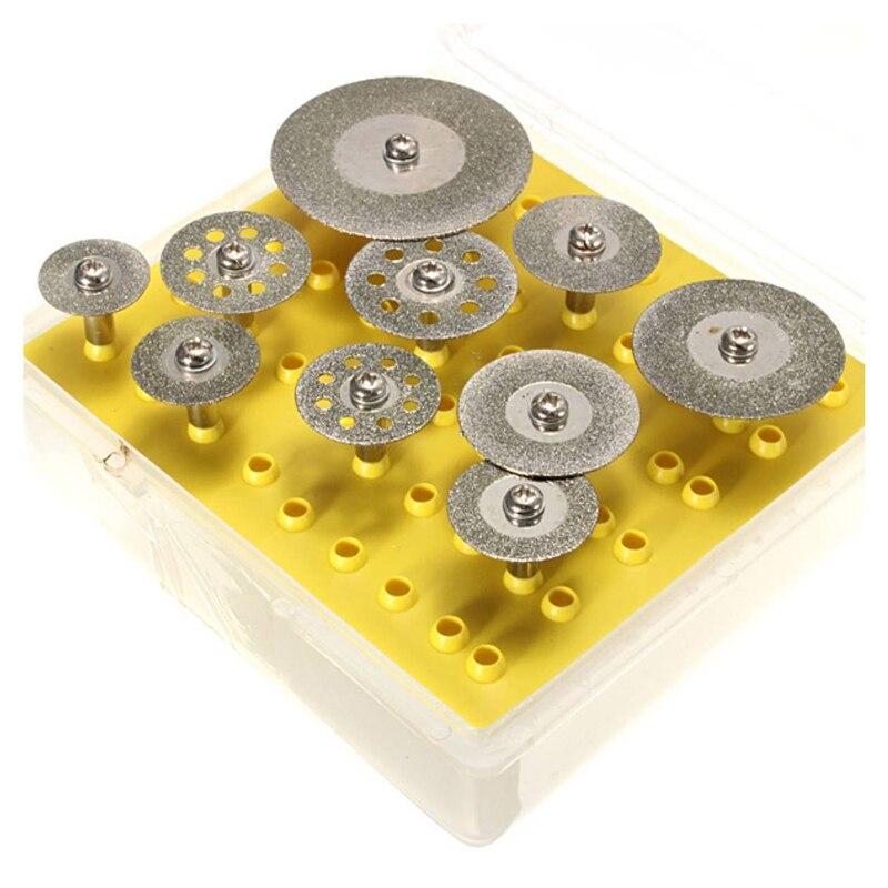 Disco de Corte de Diamante Conjunto para Dremel Peças Roda 10