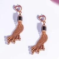 missvikki brand original design stackable bangle ring set for women bridal wedding cubic zircon earrings dubai party jewelry set