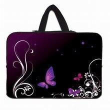 여자를위한 핑크 꽃 노트북 가방 여성 태블릿 나일론 쉘 케이스 파우치 애플 ipad 레노버 ideapad 10.1 10 9.7 인치 netbook 가방