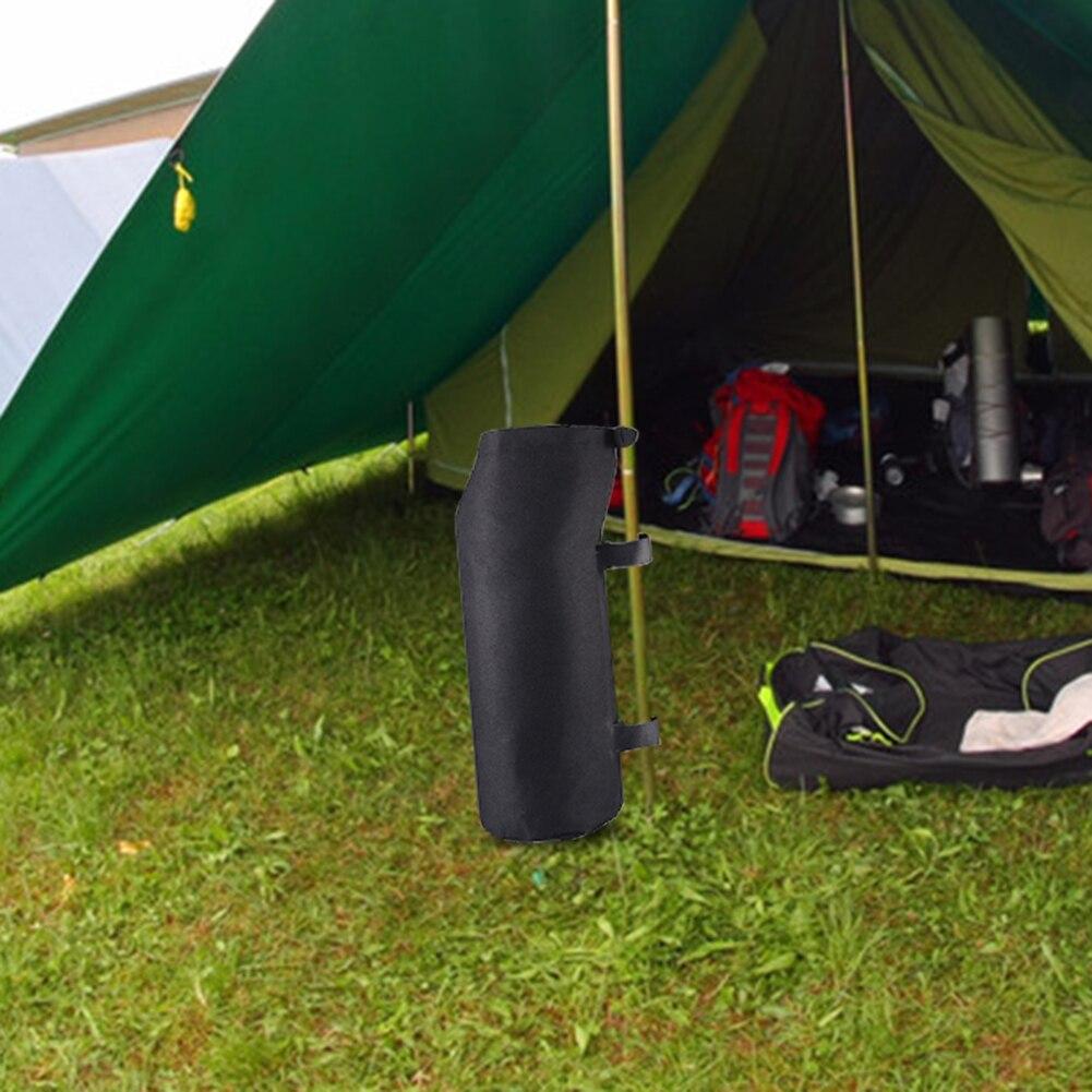 1 шт., ветрозащитная весовая Сумка для кемпинга, палатки, песка, ног, вес 600D, Оксфордские палатки, фиксированный мешок с песком