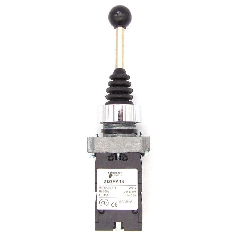 XD2-PA14 joystick controlador de resorte de retorno interruptor con palanca de mandos XD2-PA14CR conmutadores auto bloqueo