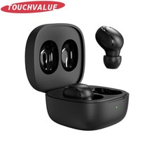 Ture Wireless Earbuds Hifi Stereo Sound Quality Bass Earphones Touch Control Noise Reduction Headset