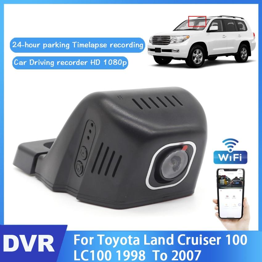 HD 1080P Hidden Wifi Dash camera Car DVR For Toyota Land Cruiser 100 LC100 1998 1999 2000 2001 2002 2003 2004 2005 2006 2007