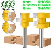 QQQ, 2 шт., фрезы для дерева, Т-образные квадратные зубья